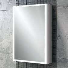 hib qubic 50 led aluminium cabinet 50 x 70cm