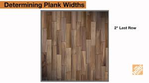 Youtube Laminate Flooring Installation Videos Installing Laminate Flooring Step 3 Plan First And Last Row