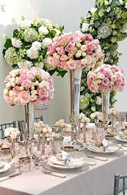 Silver Vases Wedding Centerpieces 151 Best Pink U0026 Silver Wedding Decor Images On Pinterest