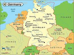 map of germany germany political map by maps from maps world s largest
