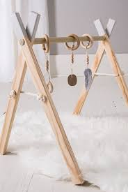 Mobile Play Barn Baby Play Gym With Mobile Accessories Cloverandbirch On Etsy A