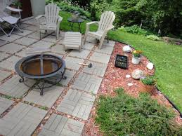 Patio And Firepit by Fire Pit Ideas Backyard Patio With On A Budget At Breathingdeeply