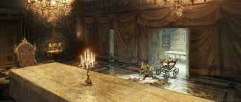 Beauty And The Beast Concept Art By Karl Simon Concept Art World - Beauty and the beast dining room