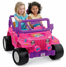 kids electric jeep amazon com power wheels barbie jammin jeep wrangler discontinued