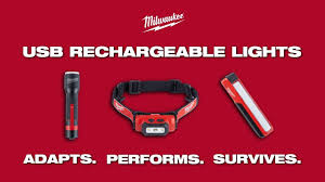 Milwaukee Lights Milwaukee Usb Rechargeable Lights Youtube