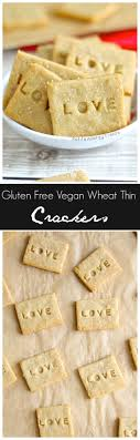 gluten free crackers wheat thin copycat vegan allergy