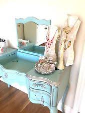 Blue Vanity Table Queen Anne Vanity Ebay