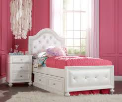 Celestial Kids Bedroom Furniture Upholstered Twin Bed With Trundle Med Art Home Design Posters
