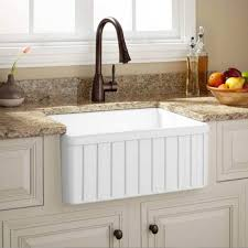 Best Kitchen Sink Materials You Will Love - Farmhouse kitchen sinks with drainboard