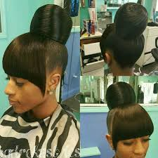 natural hair bun styles with bang pin by radiant sol on her world black beauty hair and makeup
