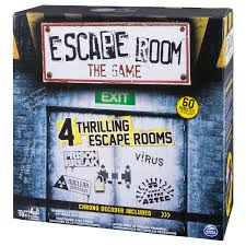 amazon com spin master games escape room the game toys u0026 games