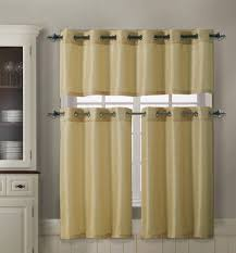 decoration teal colored valances bistro curtains for kitchen
