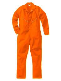 orange jumpsuit sleeve orange jumpsuits for walls blaze orange