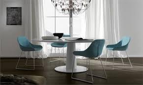 italian extendable dining table moon modern italian extending dining table