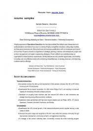 hr resume template efficiencyexperts us
