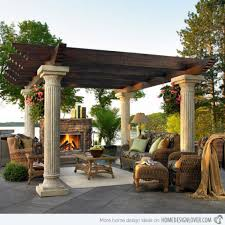 Pergola With Fire Pit by Marvellous Beautiful Pergola Impressive Propane Fire Pit Table