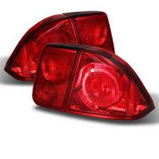 2001 honda civic tail lights honda civic sedan 2001 2003 red altezza tail lights a103yndc110