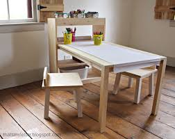marvelous kids craft table and chair in small home decoration