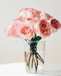 Putting Roses In A Vase Bouquet Stand Tall Flowers And Coins