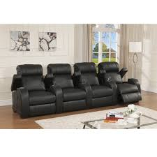 home theater sectionals relax in comfort and style with this ultra premium reclining home