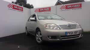 used toyota corolla t3 2004 cars for sale motors co uk