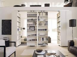 Bookcases As Room Dividers Contemporary Room Divider Bookcases Modern Contemporary Room