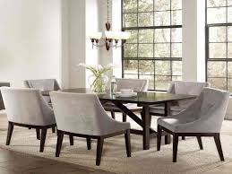 beauteous dining room sets with upholstered chairs creative