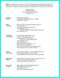 Resume For Teenagers High Resume Format Resume Peppapp
