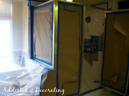Painting Shower Door Frame Painted Bathroom Faucets Shower Enclosure Paint Bathroom
