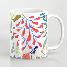 colorful coffee mugs society6