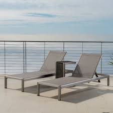 In Pool Chaise Lounge Modern Outdoor Chaise Lounges Allmodern