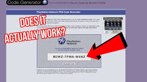 playstation gift card 10 the psn code generator scam site experiment