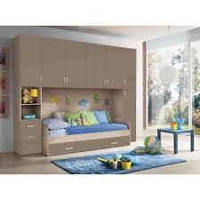 chambre pont chambre d enfant complète hurra combiné lit pont décor orme beige