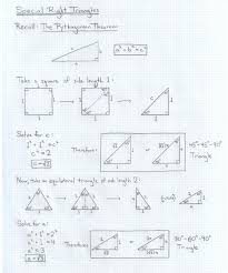 special right triangles 30 60 90 worksheet worksheets