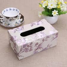 decorative tissue box tissue box rectangular modern leather decorative living room