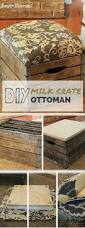diy crate ottoman from crate ottoman crates and ottomans
