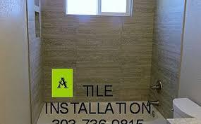 Bathroom Tile Installers Tile Installer Centennial Co Custom Tile Installers Action Shower Pan