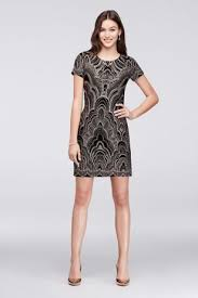 Black Cocktail Dresses With Sleeves Cocktail Dresses For Parties Weddings Or Any Occasion David U0027s