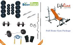 100 kg complete home gym set multi 3 in 1 bench 4 rods free gifts