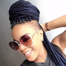 half shaved with braids shaved hairstyles with braids find your perfect hair style