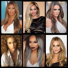 light hair colors for dark hair musely