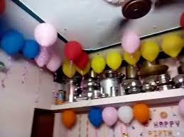 simple balloon decorations at home home decor