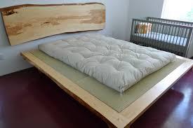 bedroom zen platform bed japanese style asian floor mattress