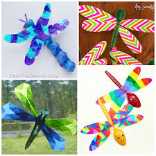 Pinterest Crafts For Kids To Make - here is a bunch of dragonfly crafts for kids to make perfect