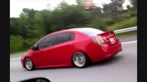 nissan sentra 2008 modified 2008 nissan sentra se r spec v slammed with weds wheels rolling