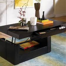 pull up coffee table lift top coffee table black thecharleygirl com