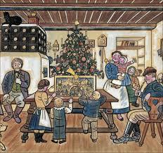 josef lada a czech christmas cave 01 undated art illustrations