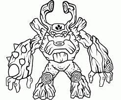 Malvorlagen Skylanders  Skylanders Giants  Tree Rex 1