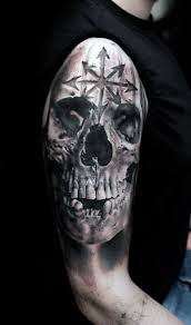 50 skull tattoos for masculine design ideas