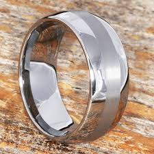 Wedding Ring Metals by Inlay Tungsten Rings Wood Inlay Rings And Wedding Bands